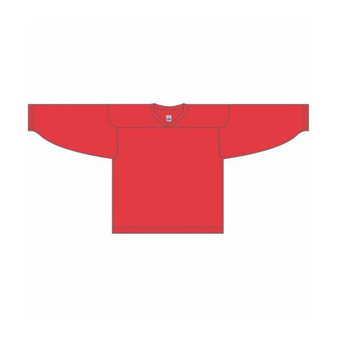 One-Color Custom Red Jersey