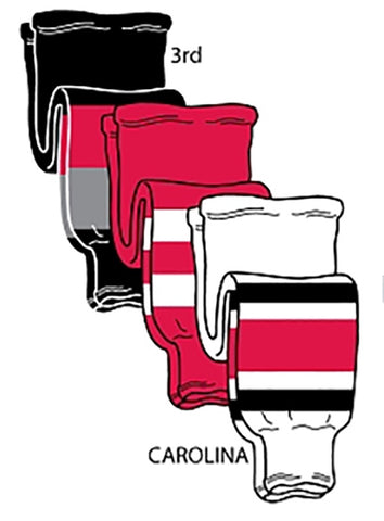 Pearsox NHL Pro Weight Hockey Socks - Carolina