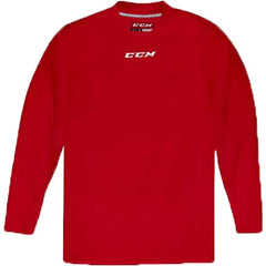 CCM Quicklite 5000 Red Custom Practice Hockey Jersey