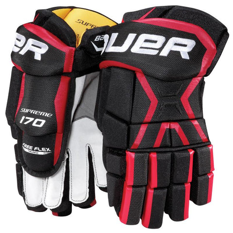 Bauer Supreme 170 Hockey Gloves - Discount Hockey