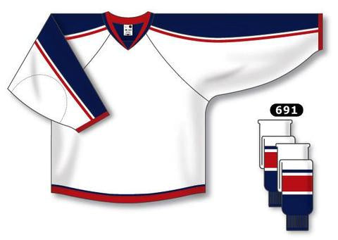 Columbus Blue Jackets Custom Away Jersey