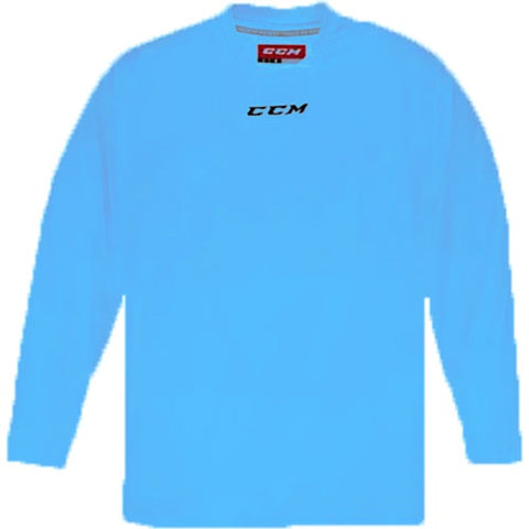 CCM Quicklite 5000 Sky Blue Custom Practice Hockey Jersey