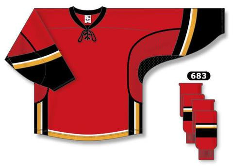 Calgary Flames Custom Home Jersey