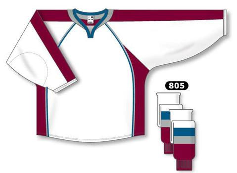 Colorado Avalanche Custom Away Jersey