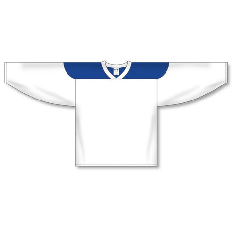Athletic Knit Custom White/Royal 6100 Jersey
