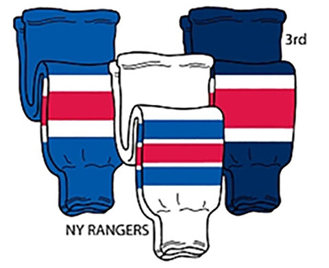 Pearsox NHL Pro Weight Hockey Socks - Rangers