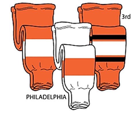 Pearsox NHL Pro Weight Hockey Socks - Philadelphia