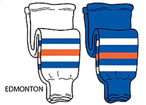 Pearsox NHL Pro Weight Hockey Socks - Edmonton