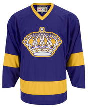 CCM Los Angeles Kings Premier Crested Vintage Purple Jersey