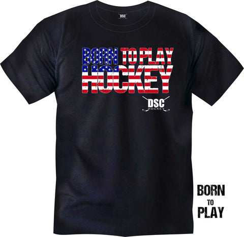 "DSC ""Born to Play"" Adult Tee Shirt"