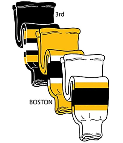 Pearsox NHL Pro Weight Hockey Socks - Boston