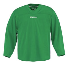 CCM Quicklite 60000 Kelly Green/White Custom Practice Hockey Jersey