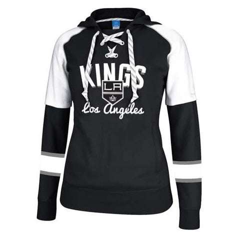 Reebok Los Angeles Kings Women's Core Pullover Hooded Sweatshirt