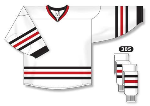 newest collection eae44 77ef6 Chicago Blackhawks Custom Away Jersey- Discount Hockey