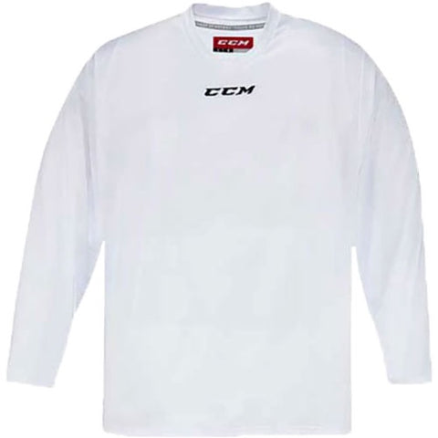 CCM Quicklite 5000 White Custom Practice Hockey Jersey