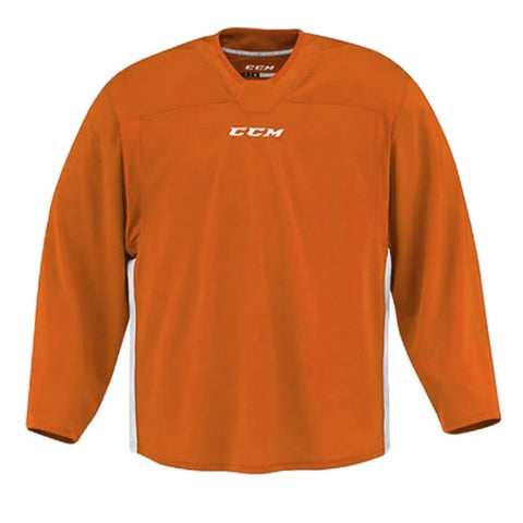 CCM Quicklite 60000 Orange/White Custom Practice Hockey Jersey