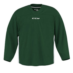 CCM Quicklite 60000 Dark Green/White Custom Practice Hockey Jersey