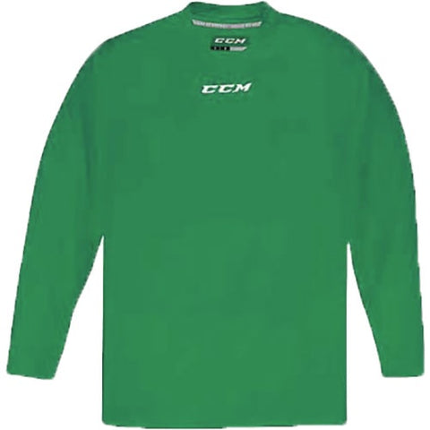 CCM Quicklite 5000 Kelly Green Custom Practice Hockey Jersey
