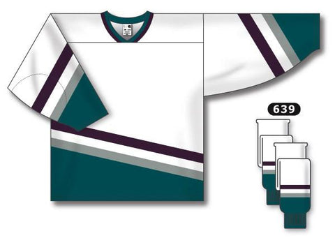 Anaheim Mighty Ducks Custom Vintage Away Jersey - Discount Hockey