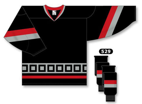 Carolina Hurricanes Custom Third Jersey (2008 - 2017) - Discount Hockey