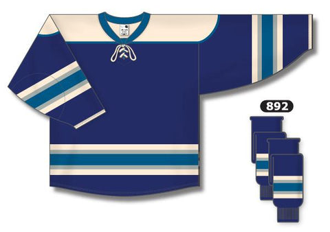 Columbus Blue Jackets Custom Third Jersey