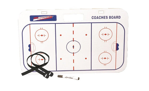 Pro Guard Hockey Coaches' Handle Board with Straps