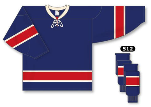 New York Rangers Custom Third Jersey (2010 - 2017)