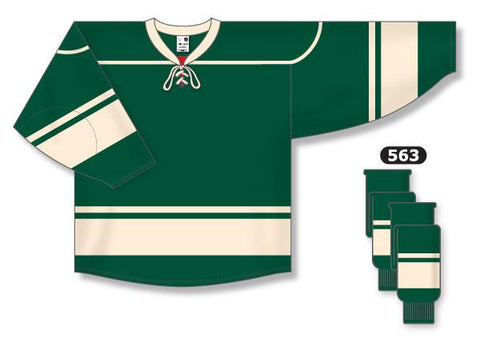 Minnesota Wild Custom Third Jersey (2009 - 2017)