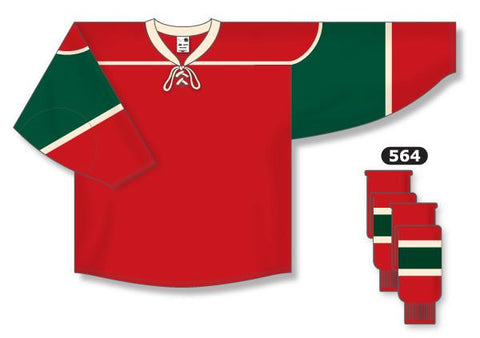 Minnesota Wild Custom Home Jersey