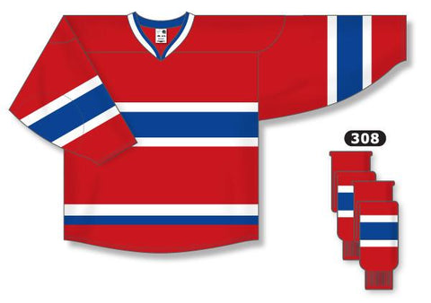 Montreal Canadiens Custom Home Jersey (2007 - 2015)