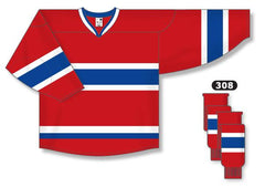 Montreal Canadiens Custom Home Jersey