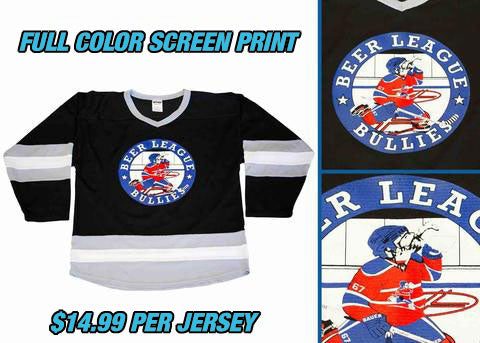 Pearsox Custom Air Mesh Hockey Jersey - Vegas Gold