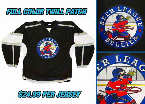 Pearsox Custom House League Hockey Jersey - White