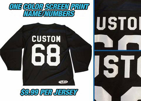 Pearsox Custom Air Mesh Hockey Jersey - Neon Green