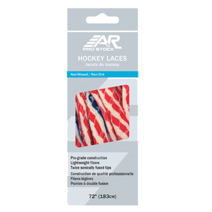 A&R Pro Stock Hockey Skate Laces American Flag