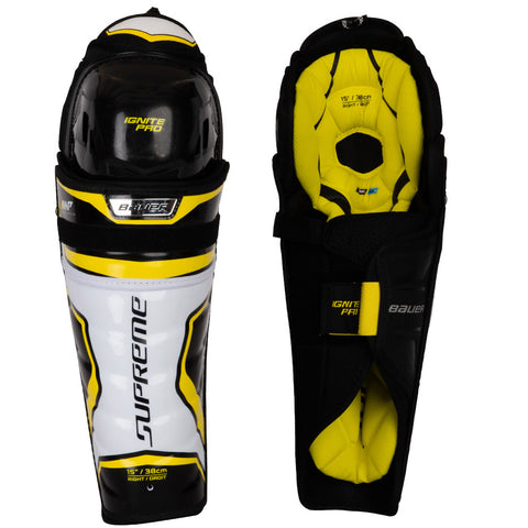 Bauer Supreme Ignite Pro 2019 Junior Shin Guards