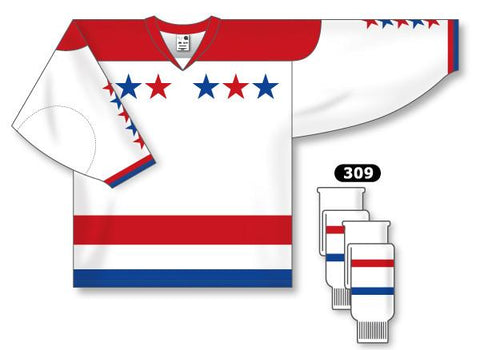 Washington Capitals Custom Third Jersey (2011-2015)