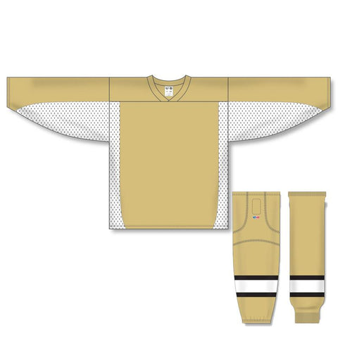 Athletic Knit Custom Vegas/White 7100 Jersey - Discount Hockey
