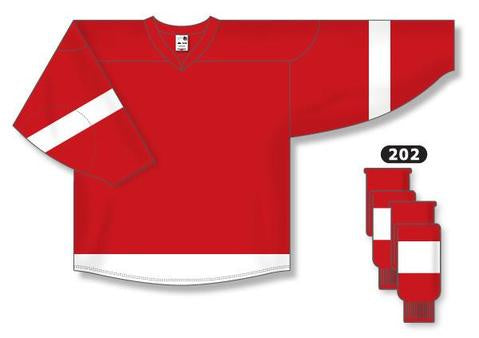 Detroit Red Wings Custom Home Jersey
