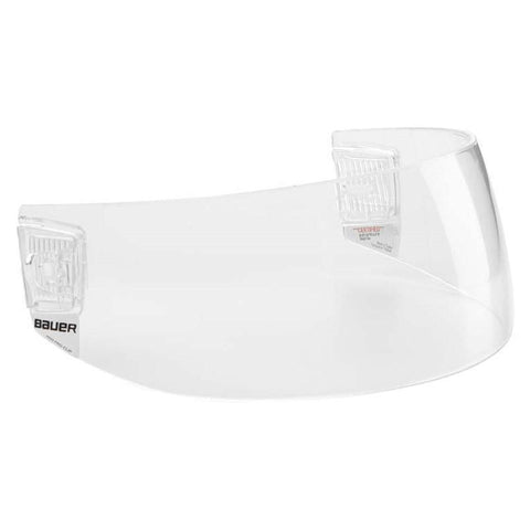 Bauer HDO Pro-Clip Straight Cut Visor - Discount Hockey