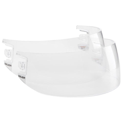 Bauer HDO Pro-Clip Straight Cut Visor Replacement Lens 2-Pack - Discount Hockey