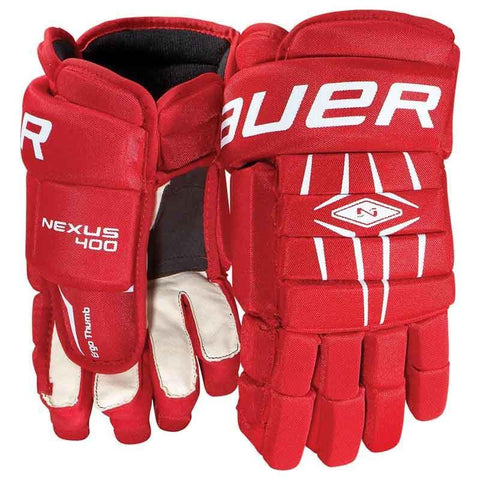 Bauer Nexus 400 Hockey Gloves - Discount Hockey