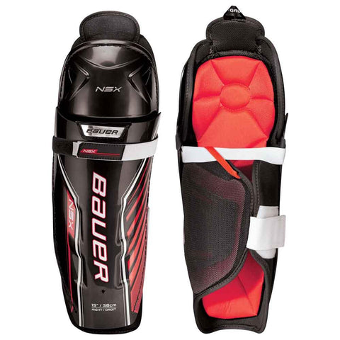Bauer NSX Junior Shin Guards