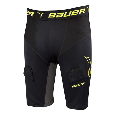 Bauer Premium Compression Jock Shorts with Cup - Discount Hockey