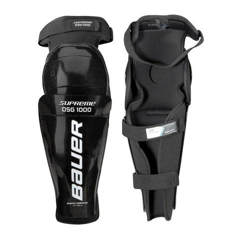 Bauer Supreme 1000 Official's Shin Guards - Discount Hockey