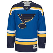 Reebok St. Louis Blues Premier Crested Jersey