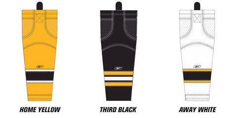 Reebok Edge SX100 Boston Bruins Mesh Socks