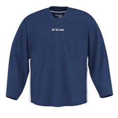 CCM Quicklite 60000 Navy/White Custom Practice Hockey Jersey