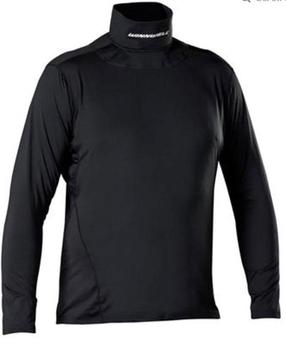 Winnwell 2019 Base Layer Top with Built-In Neck Guard Senior