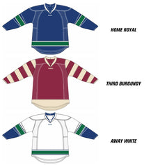 Vancouver Canucks Reebok Edge Uncrested Hockey Jersey
